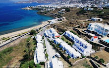 Myconos Beach in Mykonos stad